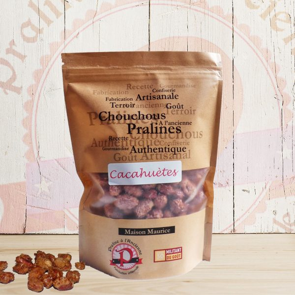 chouchous cacahuètes fabrication France artisanale confiserie pralines